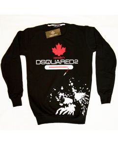 Мъжка блуза Dsquared2 Canada black and red