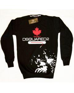 Мъжка блуза Dsquared2 Canada black and red