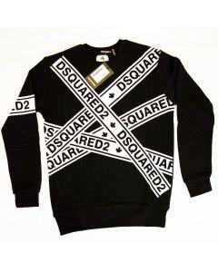 Мъжка блуза Dsquared2 Black and White