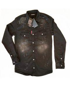 Мъжка риза Dsquared Black