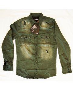 Мъжка риза Dsquared Green