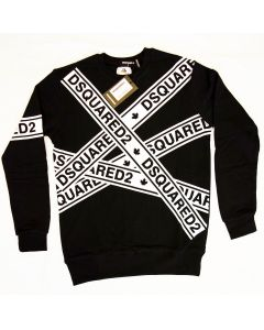 Мъжка блуза Dsquared2 Black and White