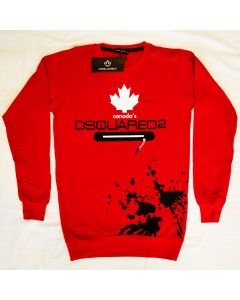 Мъжка блуза Dsquared2 Canada red and white